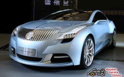 FUTURISTIC CAR PICTURE - BUICK RIVIERA CONCEPT CAR