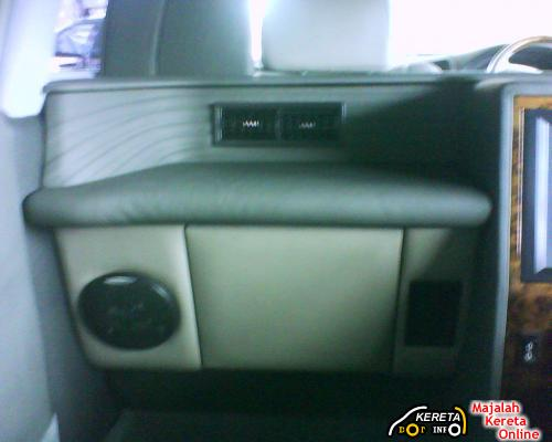 INTERIOR PICTURE OF PERDANA V6 LIMOUSIN EXECUTIVE VERSION