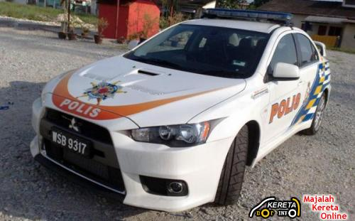 CAN MALAYSIA'S POLICE CAR MITSUBISHI LANCER EVO X BEAT THIS CARBON MOTORS E7
