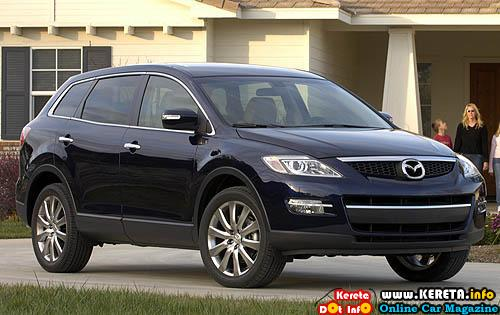 Mazda Cx 9. 2010 Mazda CX-9 Facelift with