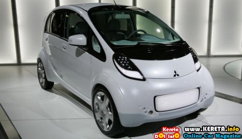 MITSUBISHI I MIEV ELECTRIC VEHICLE CONCEPT CAR CONFIRMED ITS PRODUCTION THIS YEAR - I MIEV INFORMATION + PICTURE + VIDEO