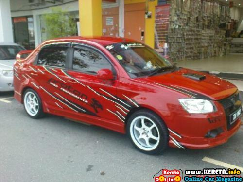 Modified Proton Saga BLM 2