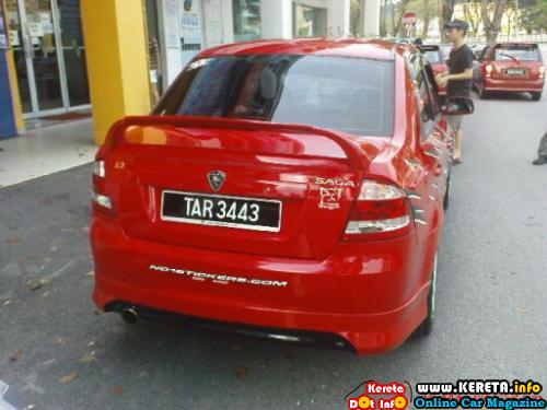 Modified Proton Saga BLM 4