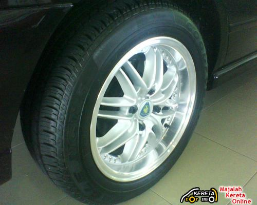 NEW SPORT RIMS DESIGN FOR PROTON PERDANA