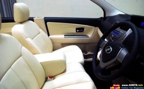 Perodua MPV Seats