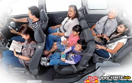 PROTON EXORA MPV IS BIG & SPACIOUS!