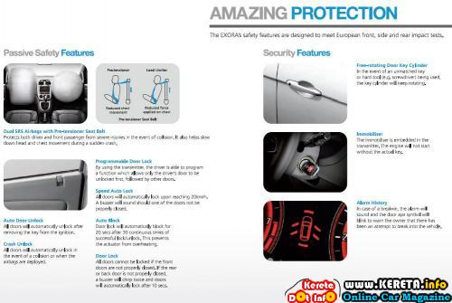 Proton Exora Safety Features