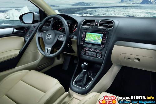 Volkswagen Golf MK6 Interior