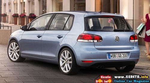 Volkswagen Golf MK6 Rear