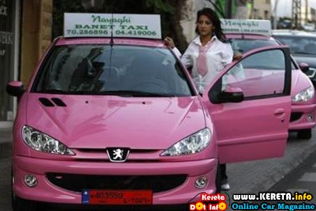 Women taxi driver