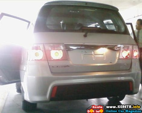 new naza citra new facelift baru 2009 2010