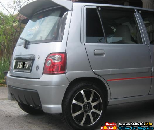 PERODUA KANCIL LIGHT & APPEARANCE MODIFIED CAR SPECIFICATION & COST TO