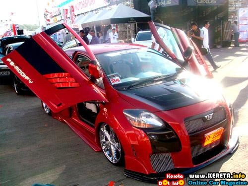 PICTURE OF HEAVILY & EXTREMELY MODIFIED NEW TOYOTA VIOS