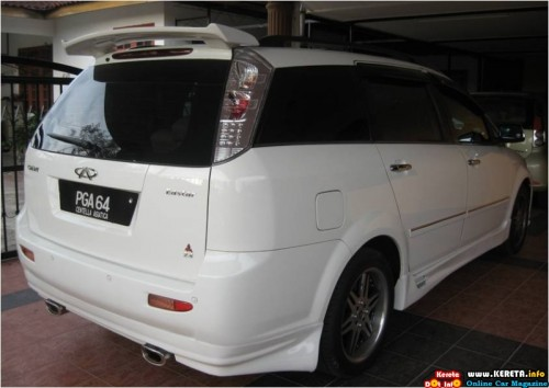 picture of modified chery eastar v5 crossover bodykit 2 500x354