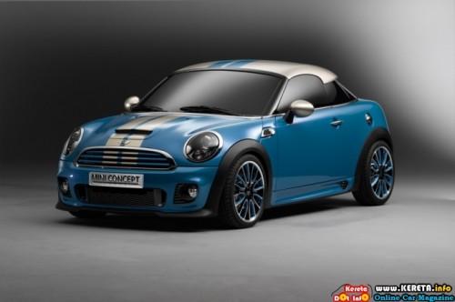 mini cooper coupe concept front 500x332
