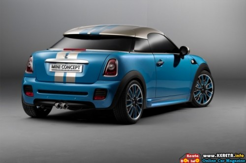 mini cooper coupe concept rear 500x332