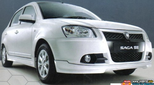 PROTON NEW SAGA BLM SE SPECIAL EDITION WHITE SPECIFICATION PICTURE