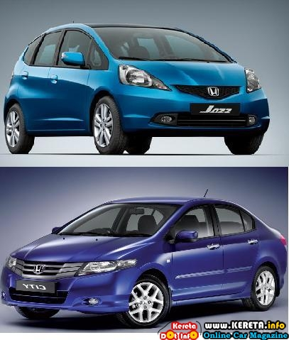ALL NEW HONDA CITY VS ALL NEW HONDA JAZZ - TEST DRIVE REVIEW & SPECIFICATION