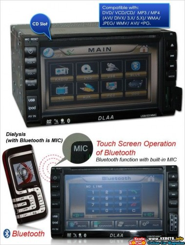 DVD PLAYER WITH GPS
