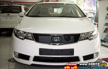 new naza kia forte cvvt open for booking