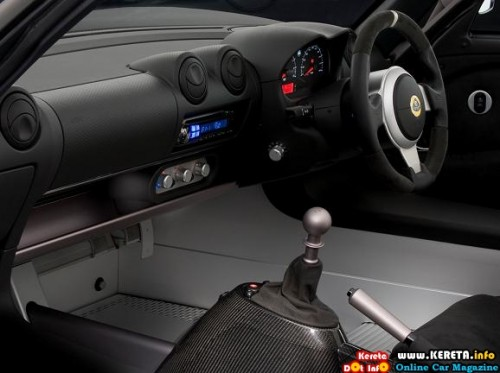 the menacing matte blac special edition lotus exige scura interior 500x373