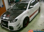 EXTREME CUSTOM MODIFIED PROTON SATRIA NEO BODYKIT