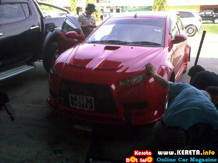 extreme custom modified proton satria neo bodykit 4