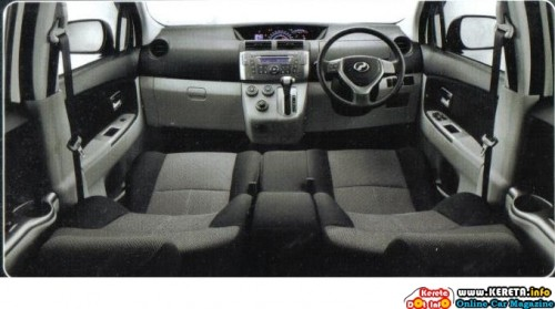 MPV PERODUA ALZA SPECIFICATION & PICTURES