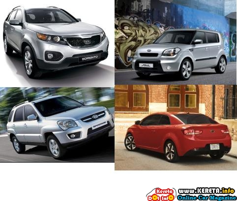 NAZA KIA LAUNCH NEW KIA SPORTAGE, SORENTO, SOUL & FORTE COUPE NEXT YEAR