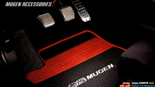 mugen honda jazz sports floor mat 500x281