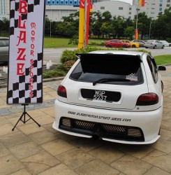 EXTREME MODIFY PROTON SATRIA - NARRESH BLAZE