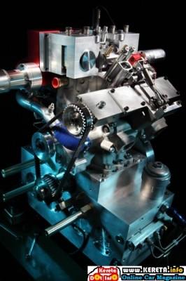 LOTUS OMNIVORE ENGINE - MULTI FUEL VARIABLE COMPRESSION RATIO FUEL SAVING CONCEPT