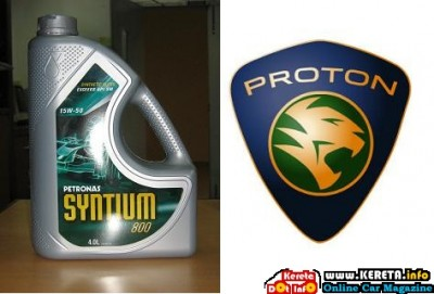 PETRONAS IS EXCLUSIVE OEM LUBRICANTS PARTNER FOR PROTON
