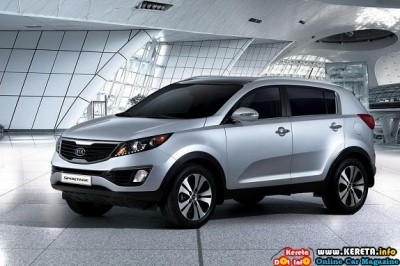 The photos featured here is the next generation 2011 Kia Sportage