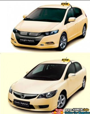 HYBRID CAR AS A TAXI? HONDA CIVIC AND INSIGHT HIBRID IN EUROPE