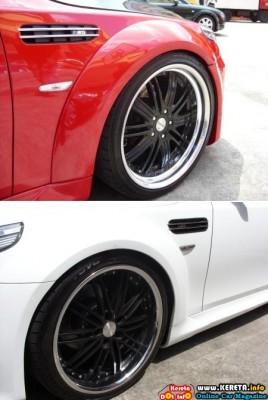 MODIFIED BMW 5 SERIES - RED VS WHITE - PASU & RANA ANTERA MOTORSPORTS