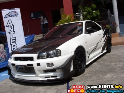 MODIFIED NISSAN SKYLINE R34 - INDRAN ANTERA