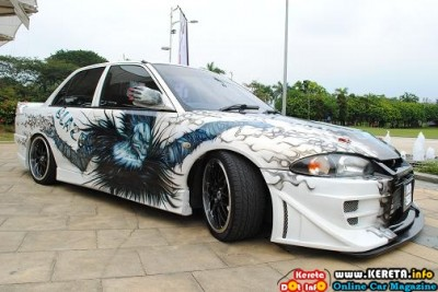 TOTALLY EXTREME EXTERIOR INTERIOR MODIFICATION PROTON WIRA MODIFIED KUMAR BLAZE 2 400x267