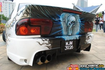 TOTALLY EXTREME EXTERIOR INTERIOR MODIFICATION PROTON WIRA MODIFIED KUMAR BLAZE 3 400x267