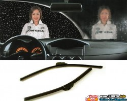 CHANGE YOUR RUBBER WITH SILICONE WIPER BLADE!