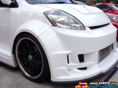 EXTREME CUSTOM WIDE BODY KIT MYVI - DINESH ANTERA