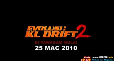 Evolusi KL Drift 2 Trailer 400x214