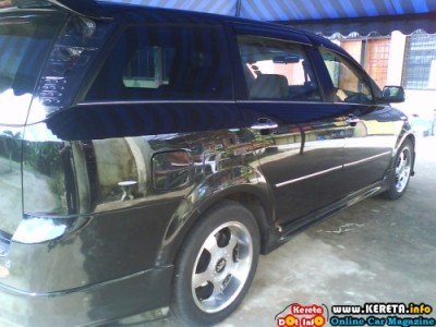 MODIFIED CHERY EASTAR MPV WITH BODYKITS