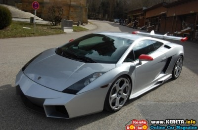 MODIFIED LAMBORGHINI GALLARDO REVENTON STYLE - BY CDC-INTERNATIONAL