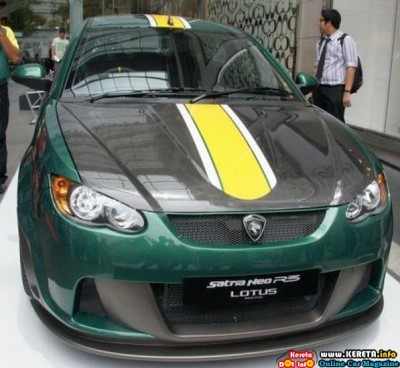 Proton Satria Neo R3 Lotus Racing edition 5 400x368