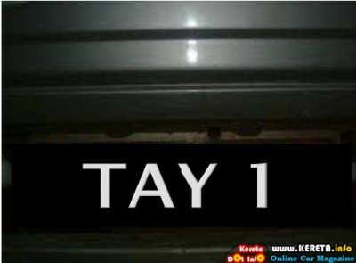 TAY 1 Plate Number 400x295
