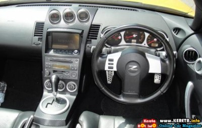 INTERIOR NISSAN FAIRLADY 350Z MODIFIED