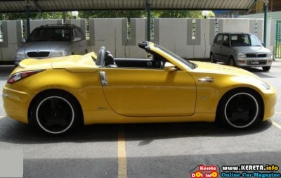FACELIFTED NISSAN FAIRLADY 350Z CABRIOLET MODIFIED