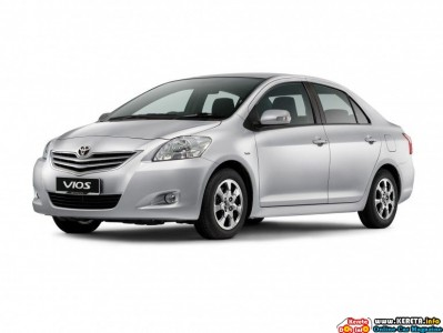 Facelifted Toyota Vios E 399x300