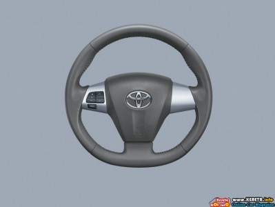 Facelifted Toyota Vios G Steering Wheel 399x300